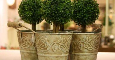 Декоративные цветочные горшки и фонари для сада - Украшения и Подарки