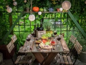 Как устроить вечеринку в саду - 9 советов
