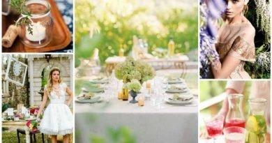 Вдохновение на garden party!