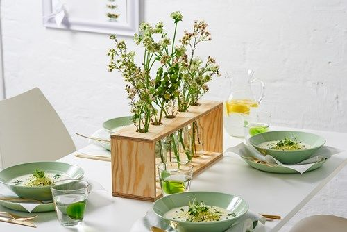 Весенний подставка для цветов - DIY