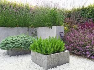 Простой рецепт на вазоны из бетона. Это садовый хит!
