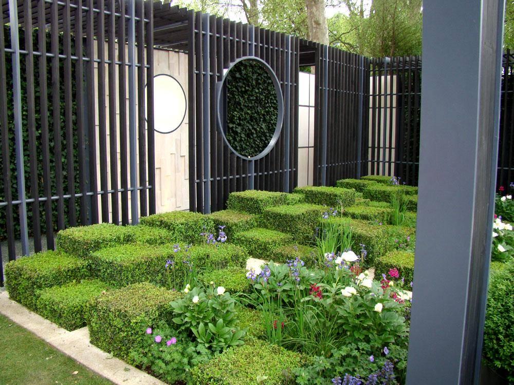 Дизайн сада - фото
