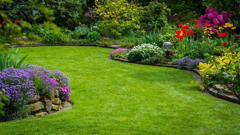 Сад такой маленький, как квартира