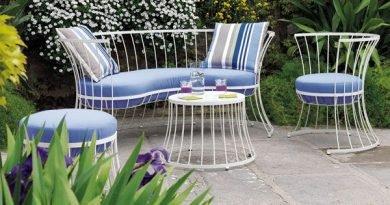 6 предложений садовой мебели