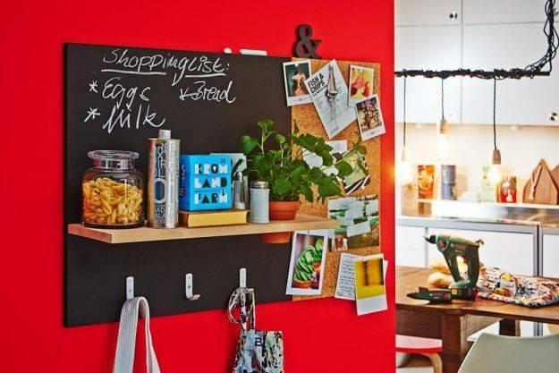 Доска и органайзер на стену - DIY