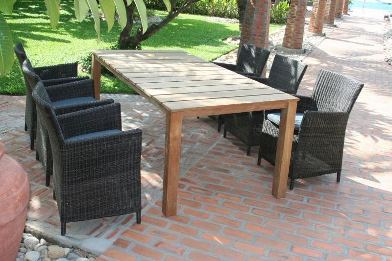 Красивая садовая мебель бренд Miloo