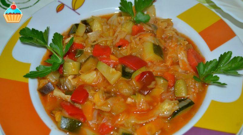 Овощное рагу — быстро и вкусно!